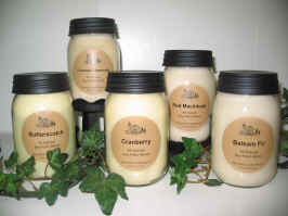 Soy - Palm Jar Candles
